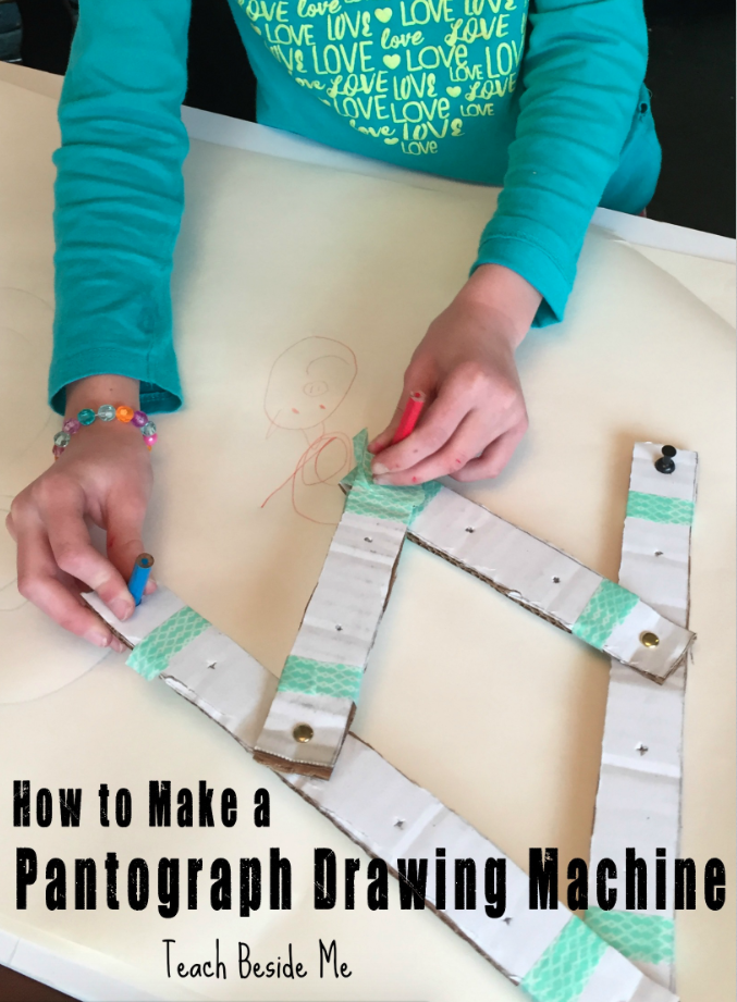 How to Make a Pantograph Drawing Machine