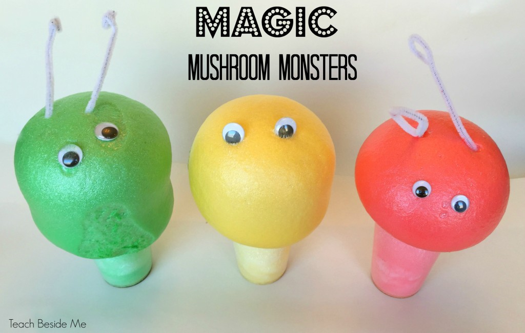 magic mushroom monsters
