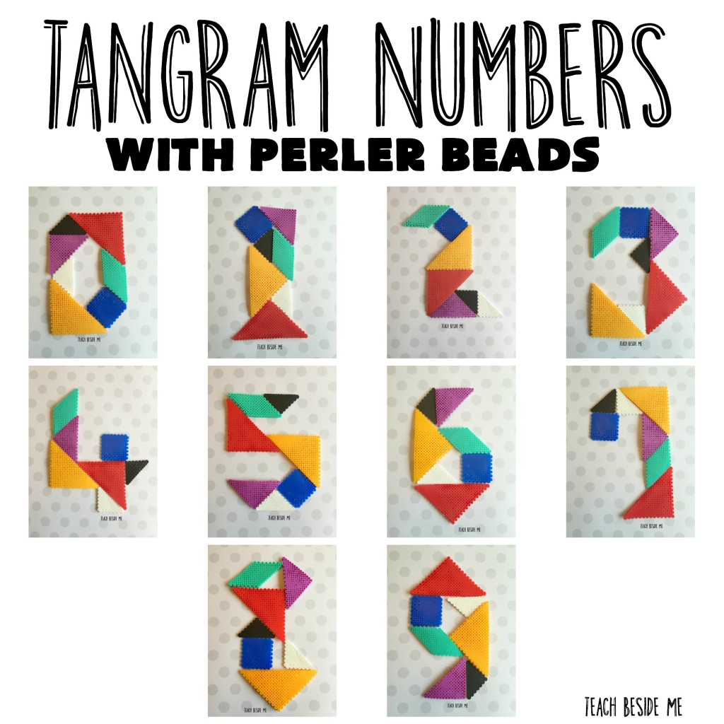 perler bead numbers from Teach Beside Me