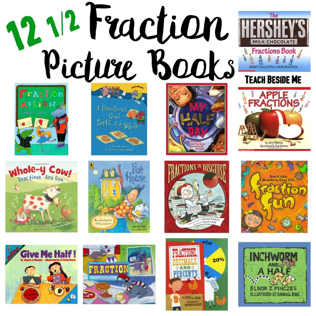 Fraction Picture Books for Kids