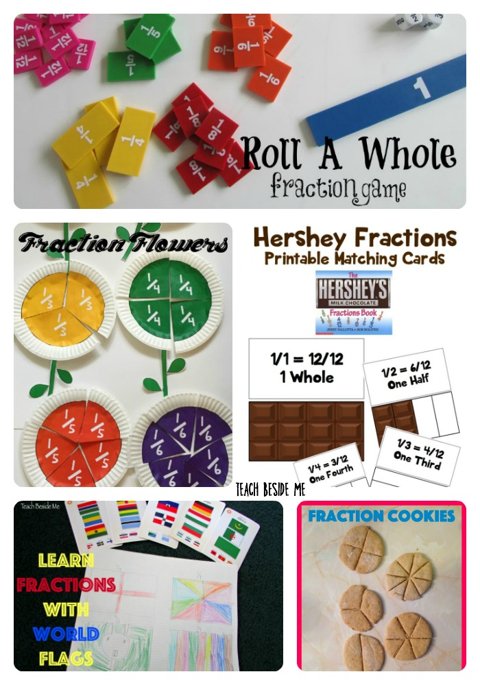Fun ways to teach fractions
