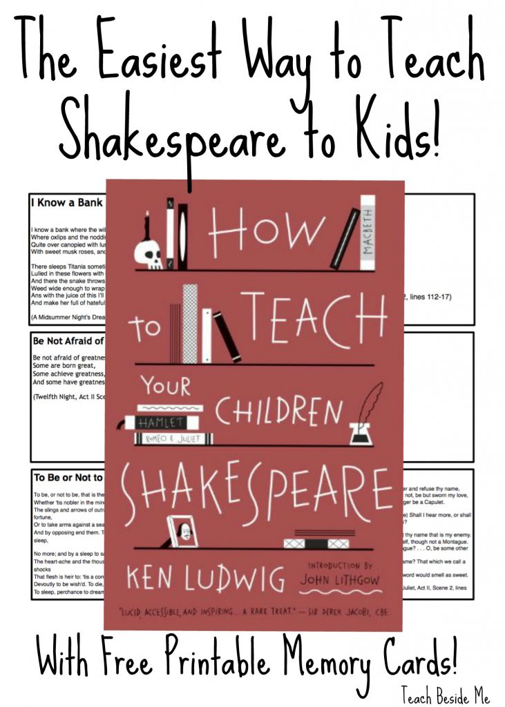 How to teach Shakespeare to Kids