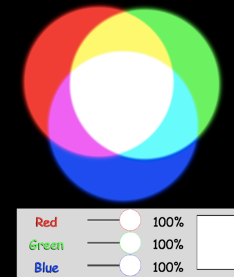 color subtraction science simulation
