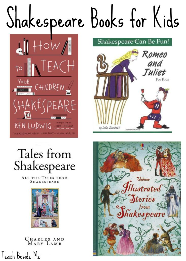 Shakespeare books for kids