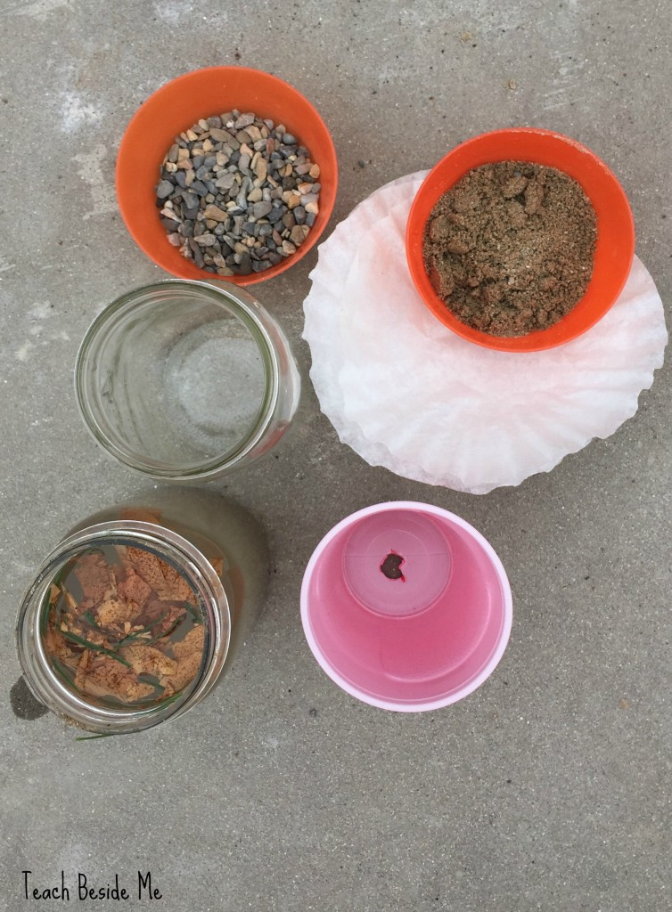homemade water filter experiment