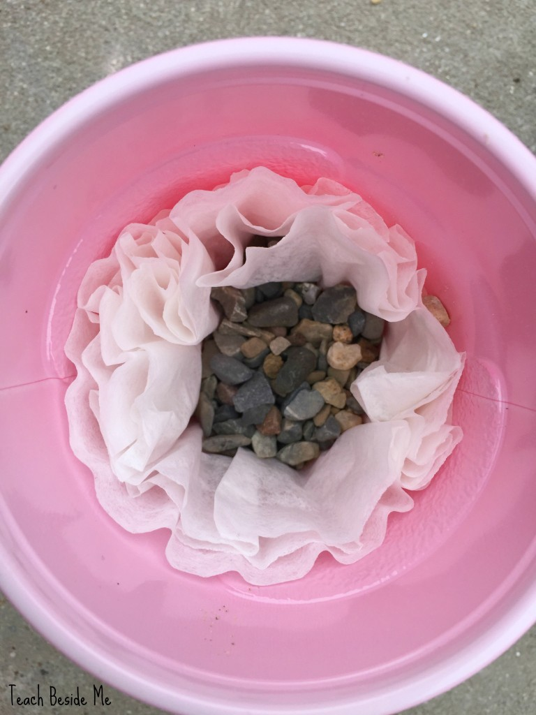 how to make a water filter