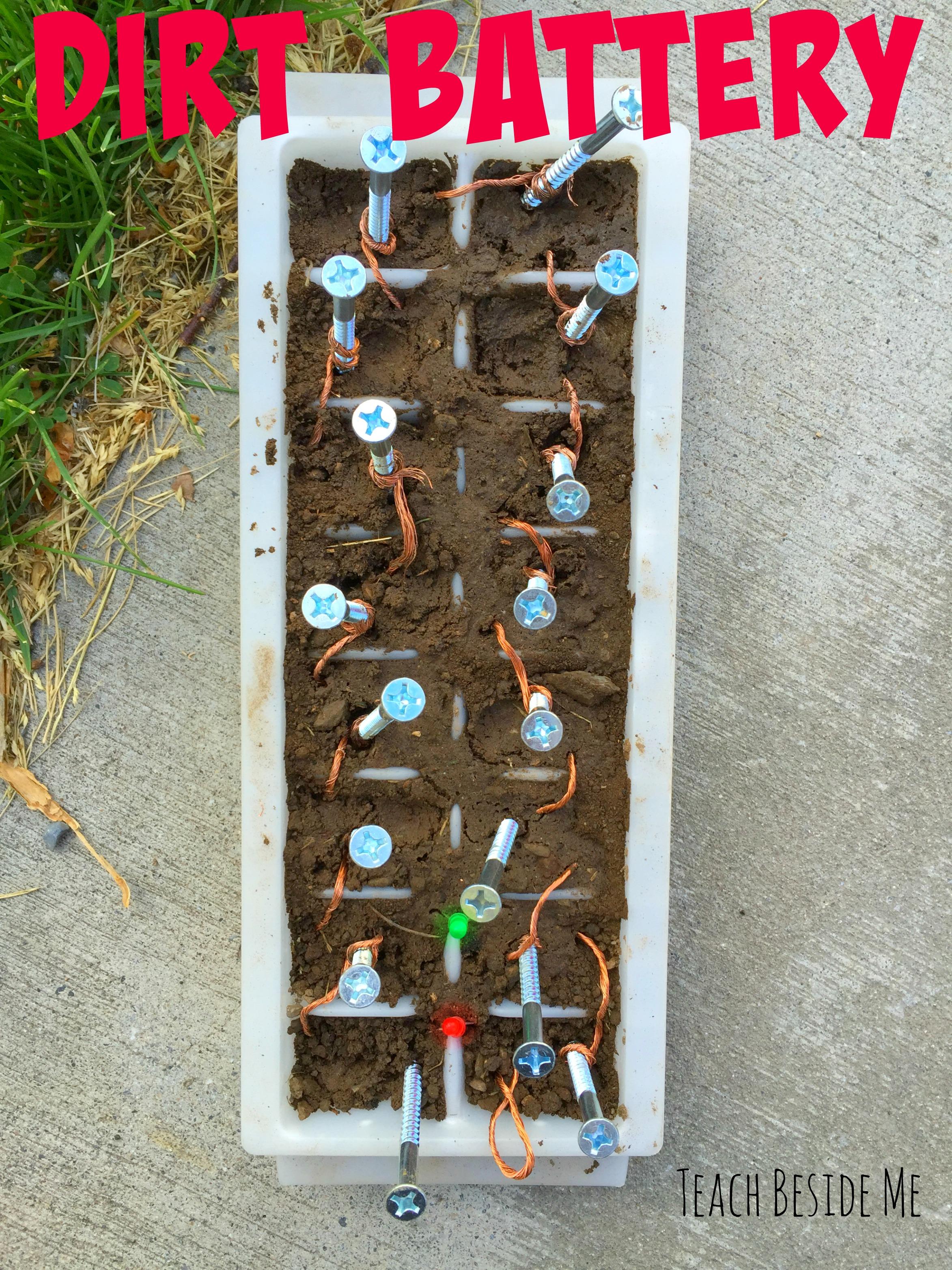 Dirt Battery Experiment