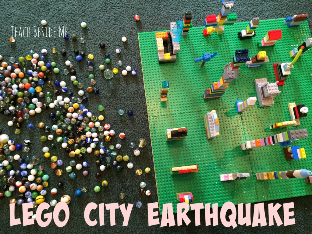 Learn Earthquakes with Legos