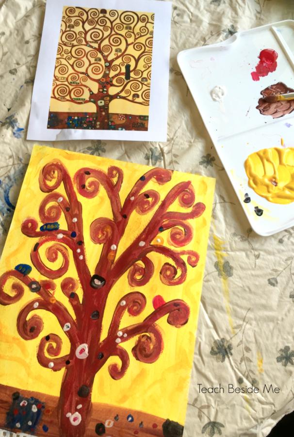 Gustav Klimt Artist Study