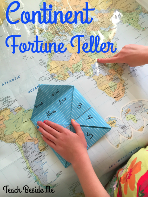 Continent Fortune Teller – Teach Beside Me