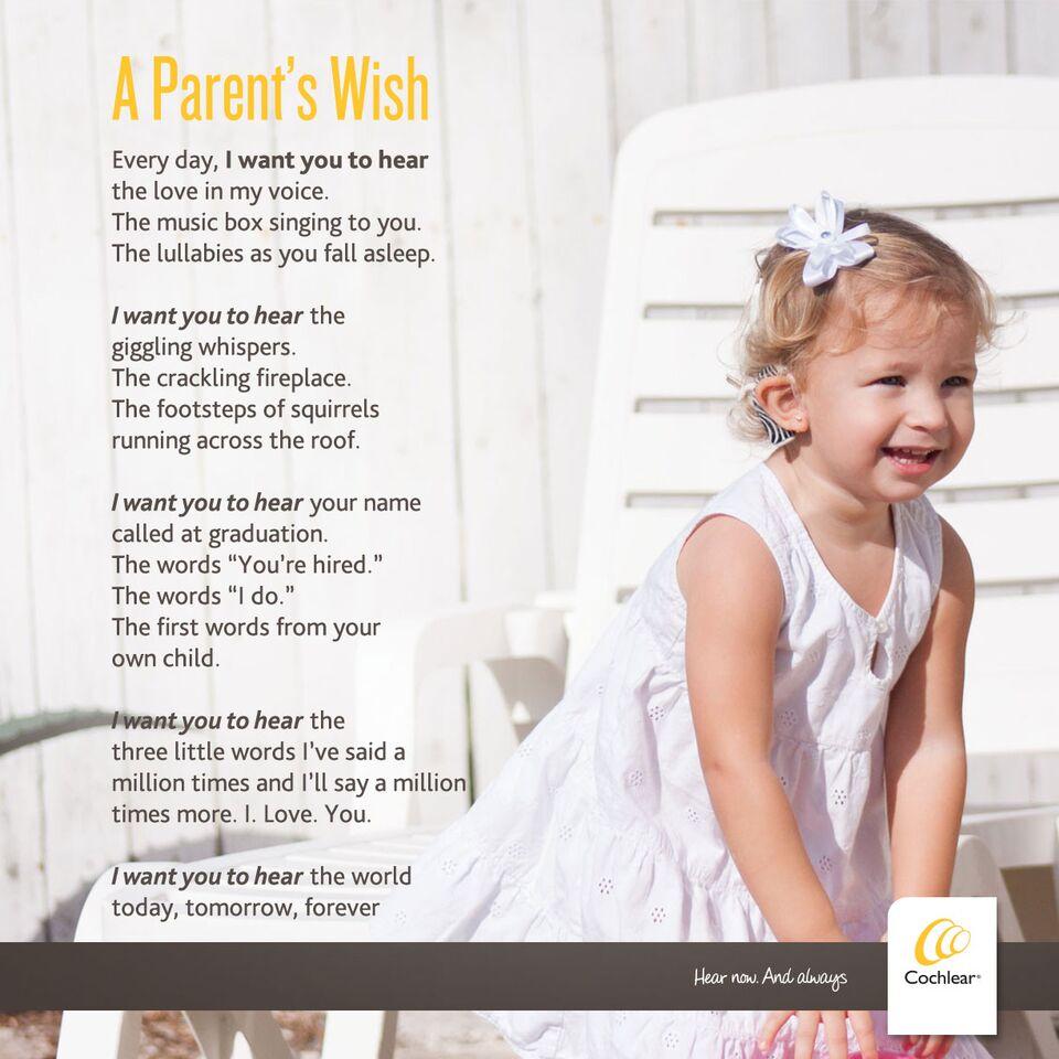 a parent's wish