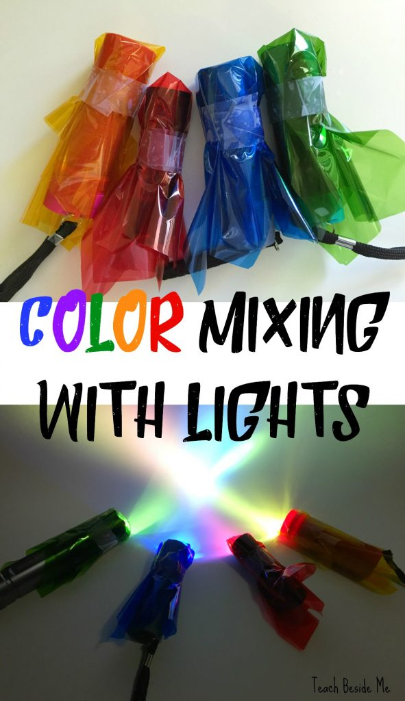 Color Mixing With Light Teach Beside Me – Color Mixing Worksheet