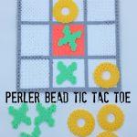 Perler Bead Tic Tac Toe