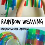 Rainbow Woven Lantern