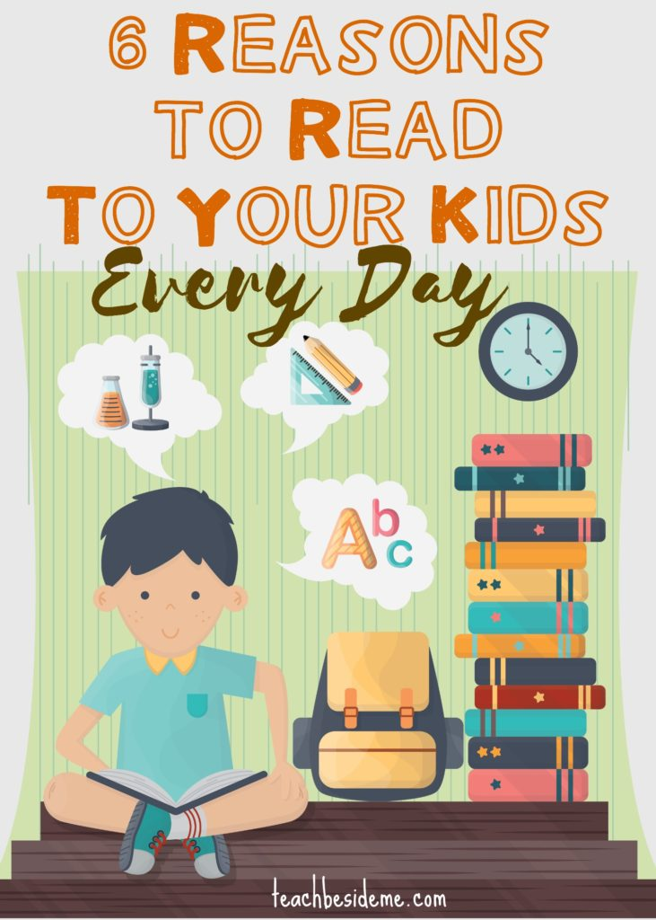Importance of reading to kids every day
