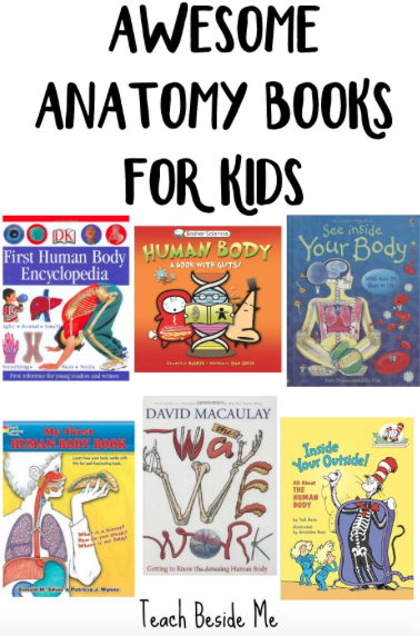 awesome Anatomy Books for Kids