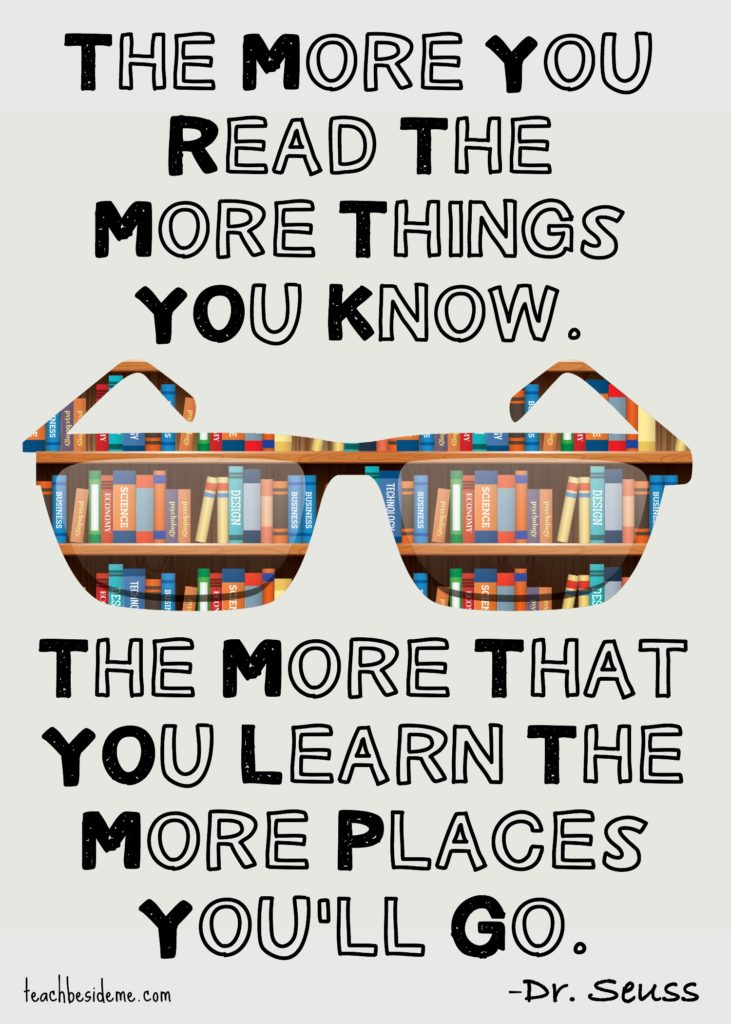 The More You Read Quote by Dr. Seuss
