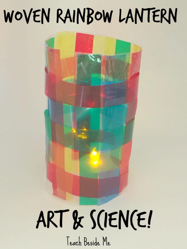 Woven Rainbow Lantern