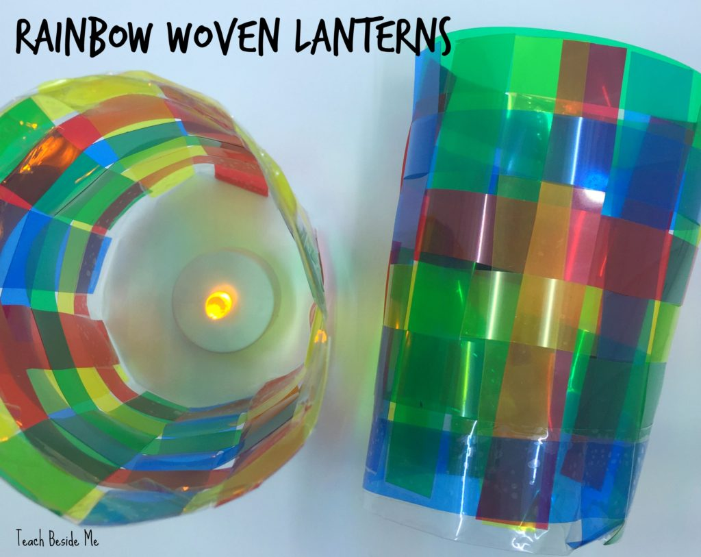 Woven Rainbow Lanterns