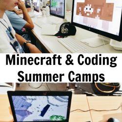 Online Summer of Minecraft Camps