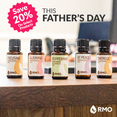 June Father's Day Essential Oils promotions