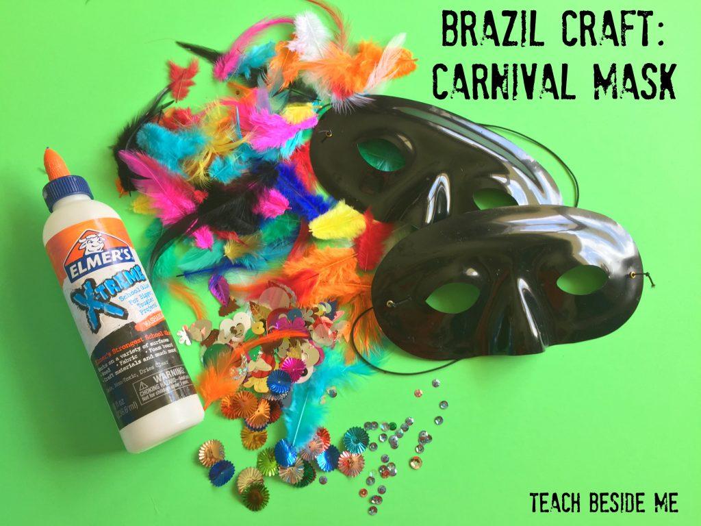 Carnival Mask- Brazil Unit
