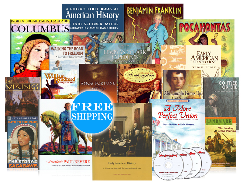 Early American History Intermediate Pack - Beautiful Feet Books