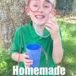 Homemade Straw Glasses