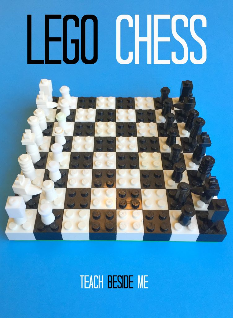 How To Make A Lego Chess Set Teach Beside Me