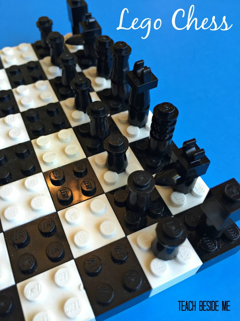 Lego Chess Set for Kids