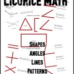 $ Licorice Shapes, Angles and Lines