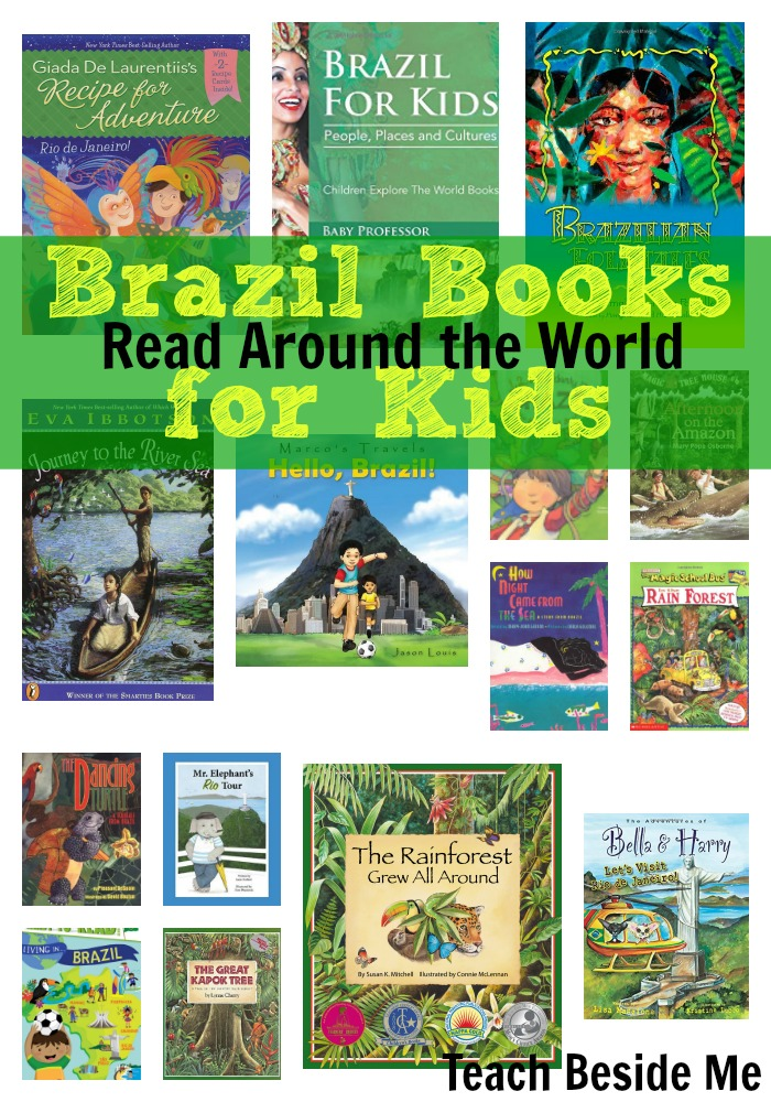 Read Around the World- Brazil Books for Kids