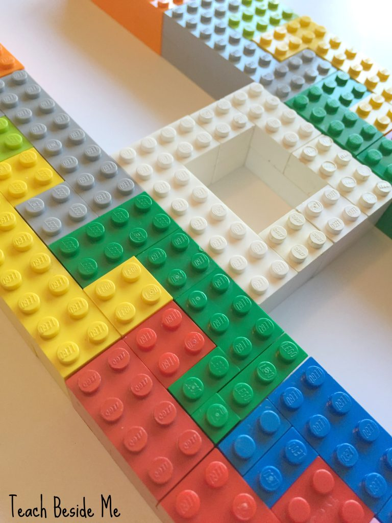 Symmetry with Lego Tesselation Puzzles