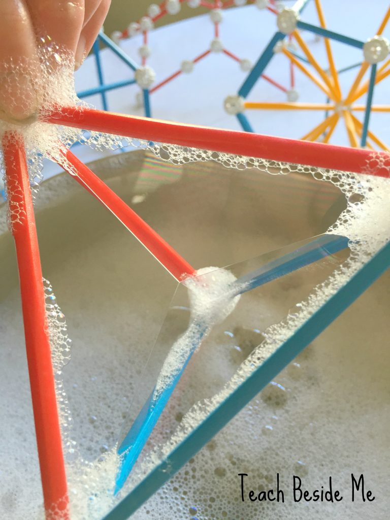 triangle bubbles- STEM toys