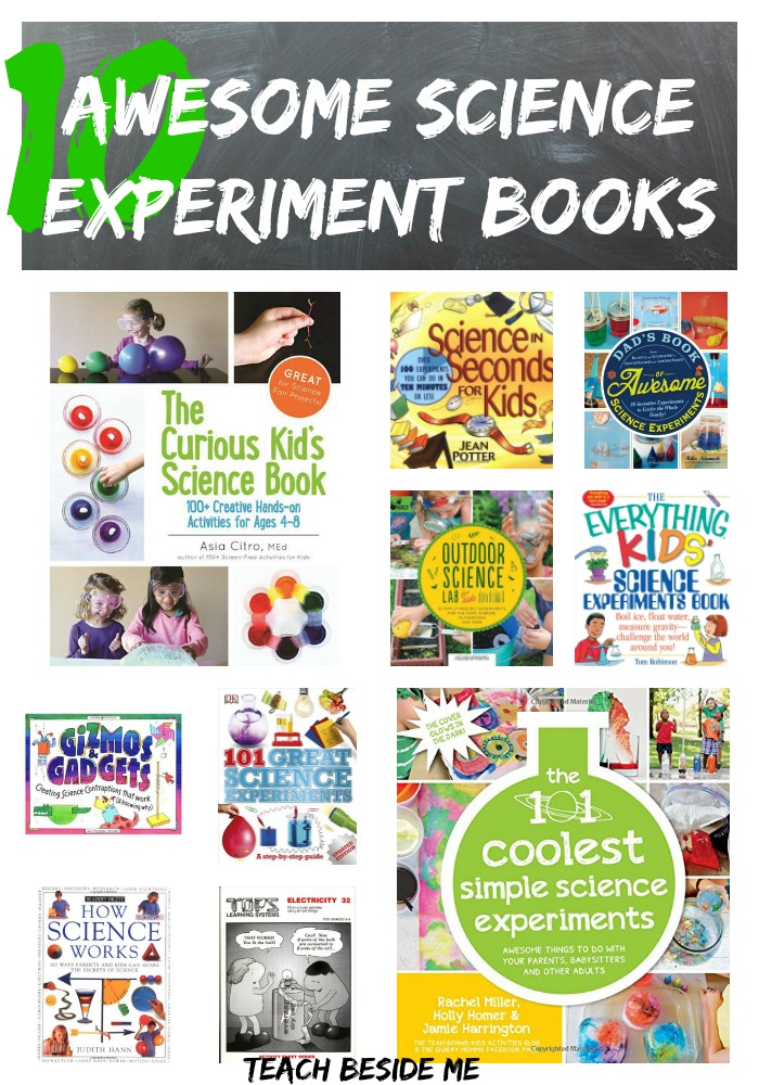 10 Awesome Science Experiment Books for Kids