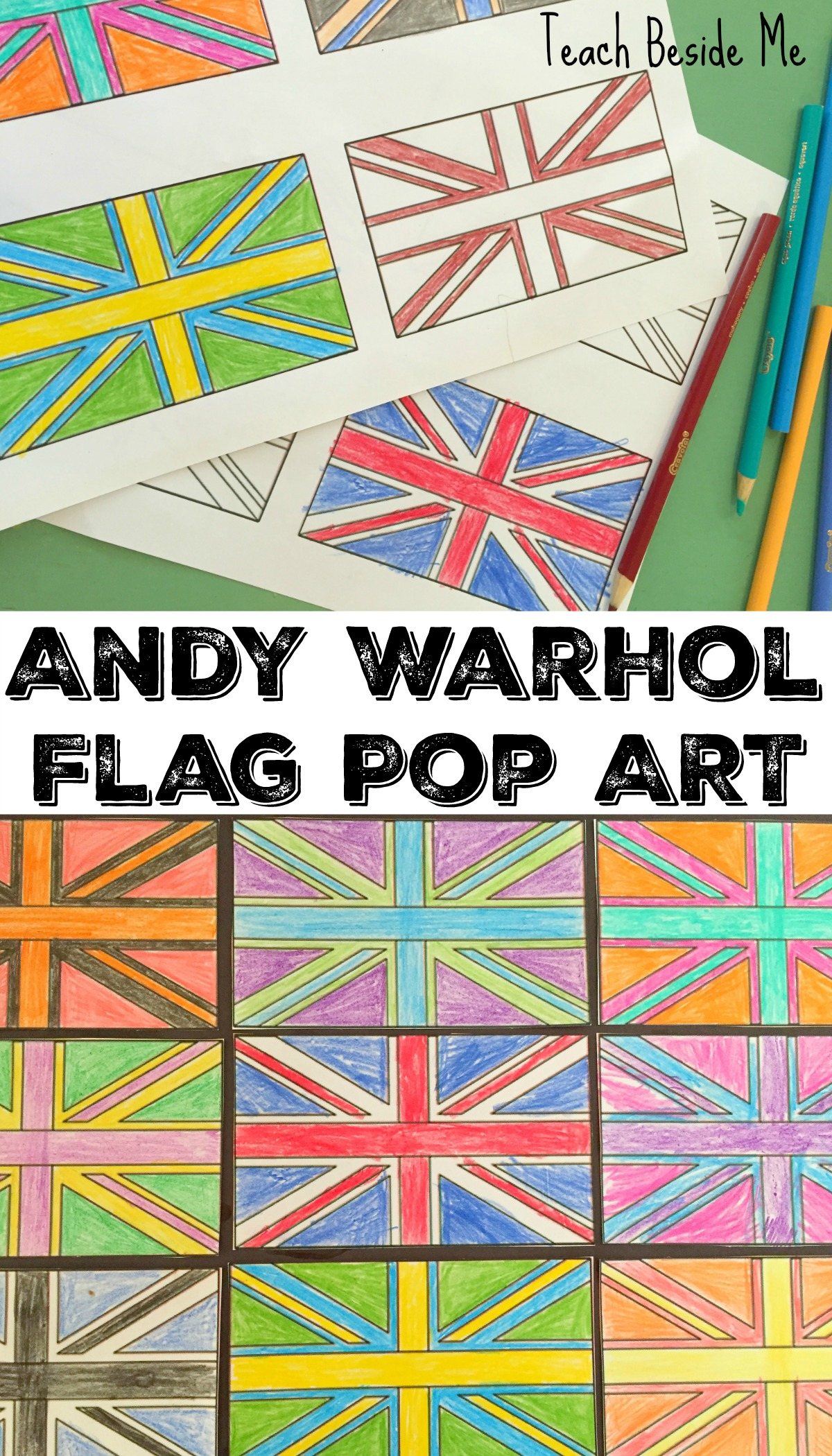 Andy Warhol For Kids: Flag Art