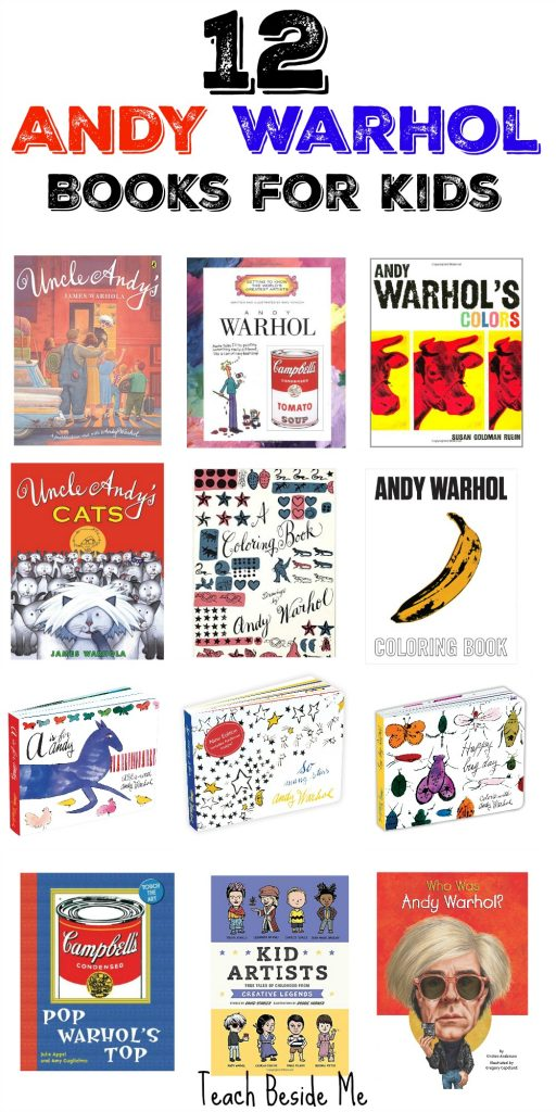 Books about Andy Warhol for Kids