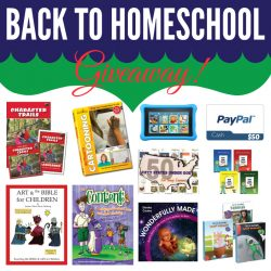 Big Back to Homeschool Curriculum Giveaway!