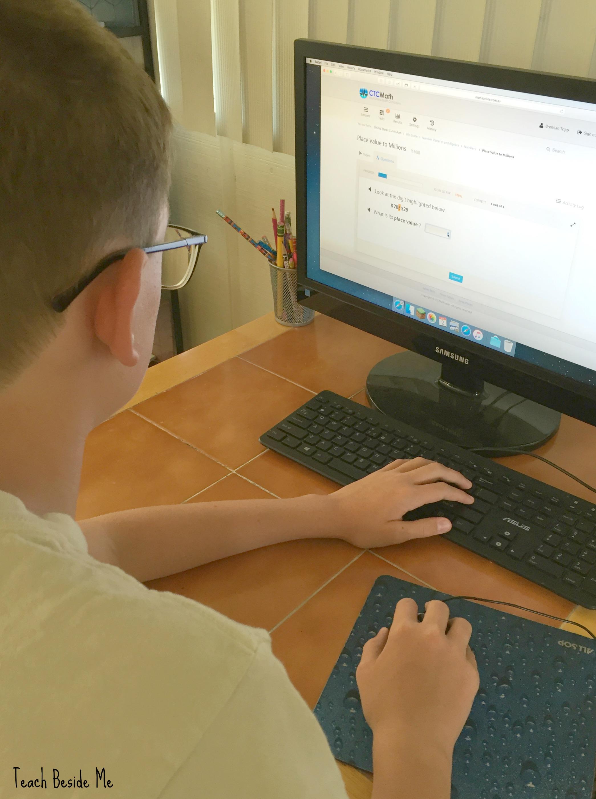 CTC Math Online Homeschool Curriculum