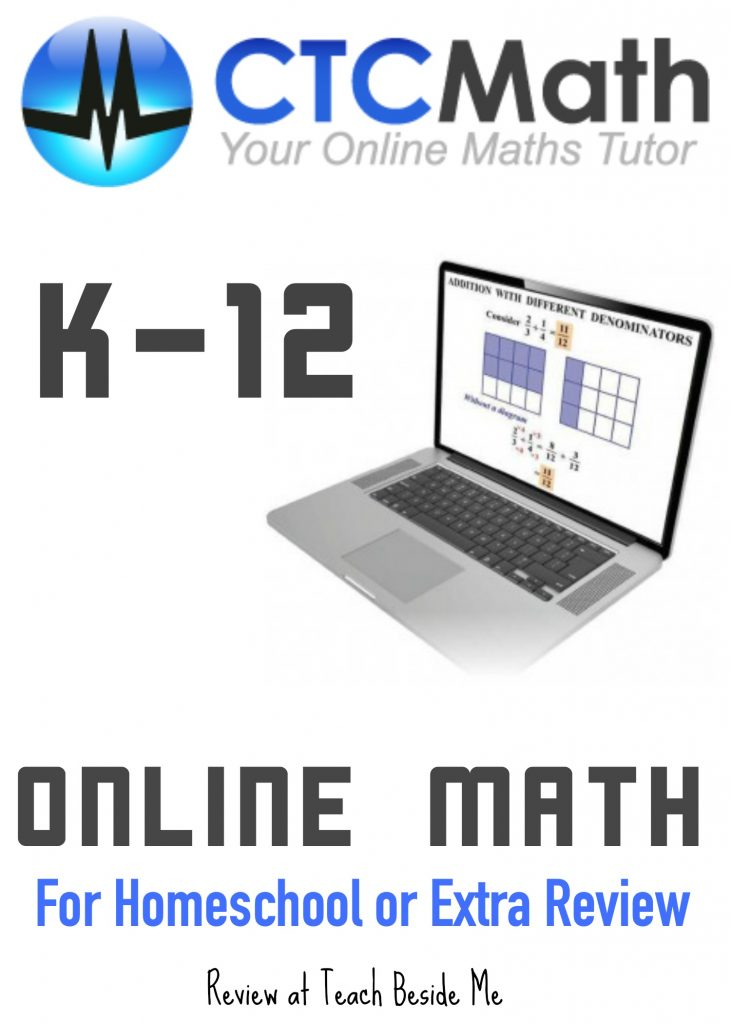 CTC Online Homeschool Math Curriculum Review
