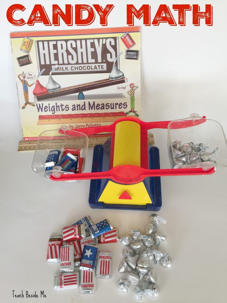 Candy Math - HERSHEY Weights and Measures