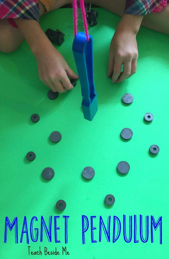 magnet experiment pendulum