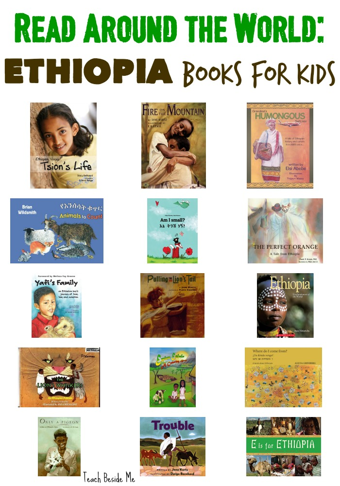 Read Around the World Ethiopia Books for Kids