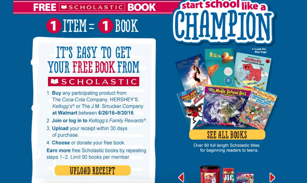 Scholastic Free Books