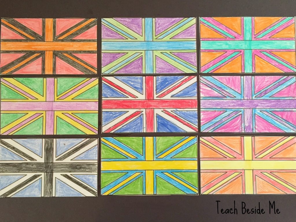 Andy Warhol For Kids: Flag Art - Teach Beside Me