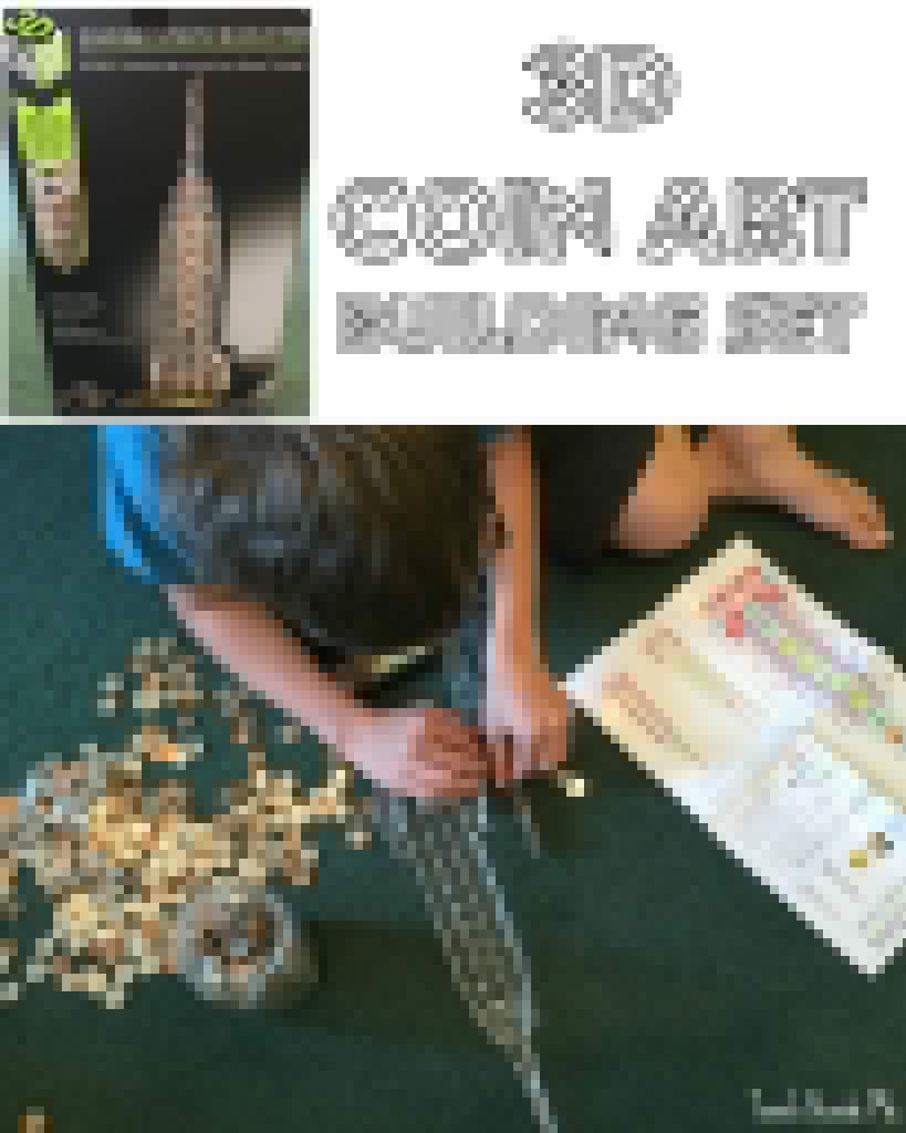 3D Coin Art Building Set