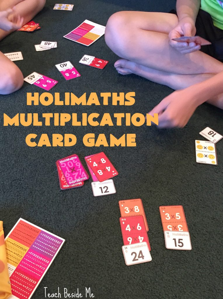 HoliMaths multiplication card game