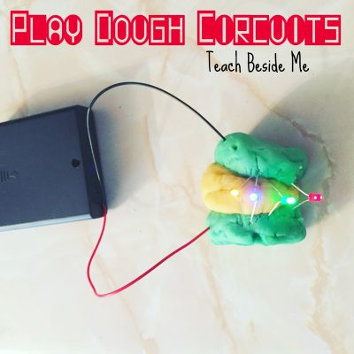 play dough circuits