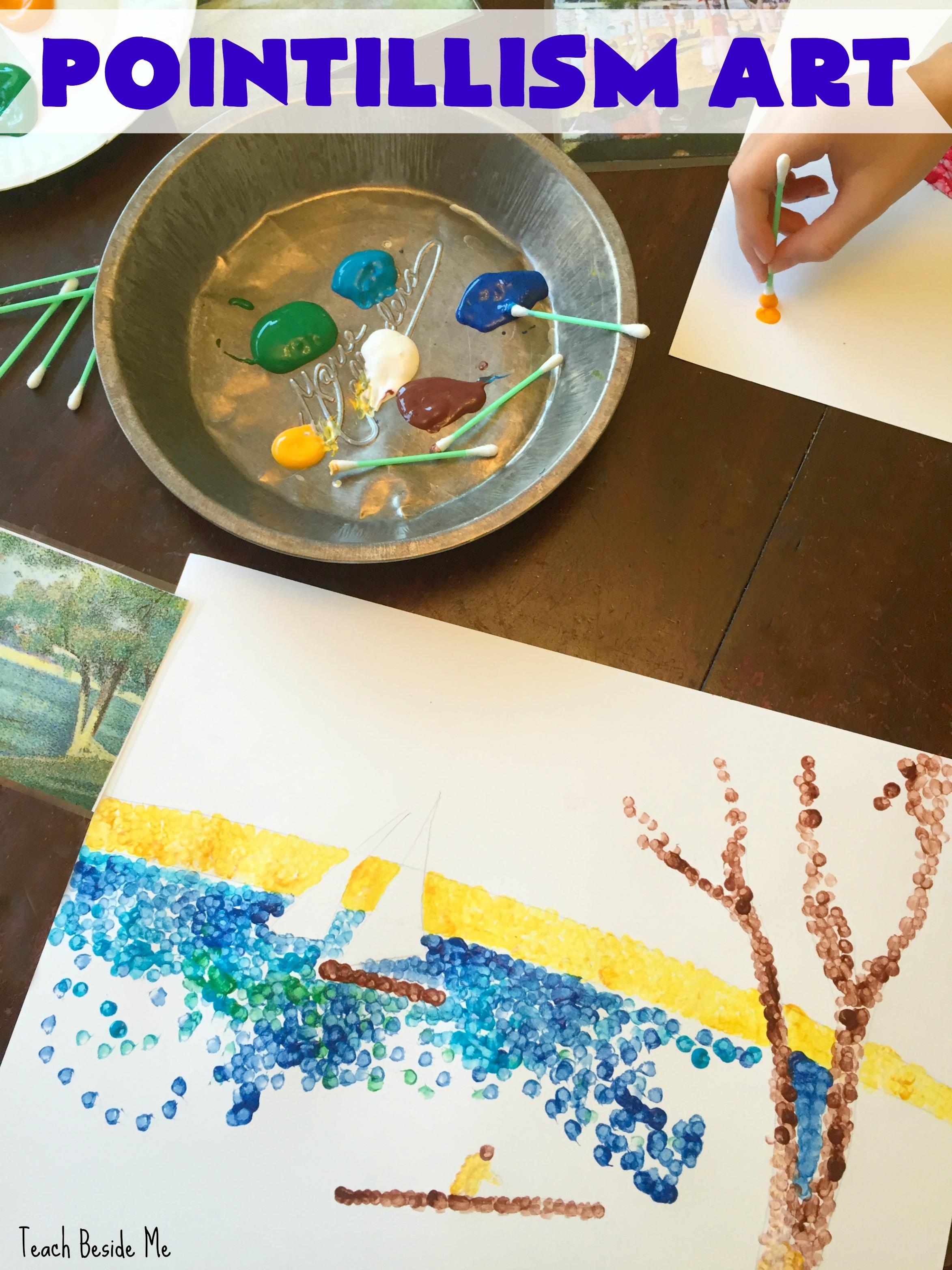 Pointillism Art with Seurat