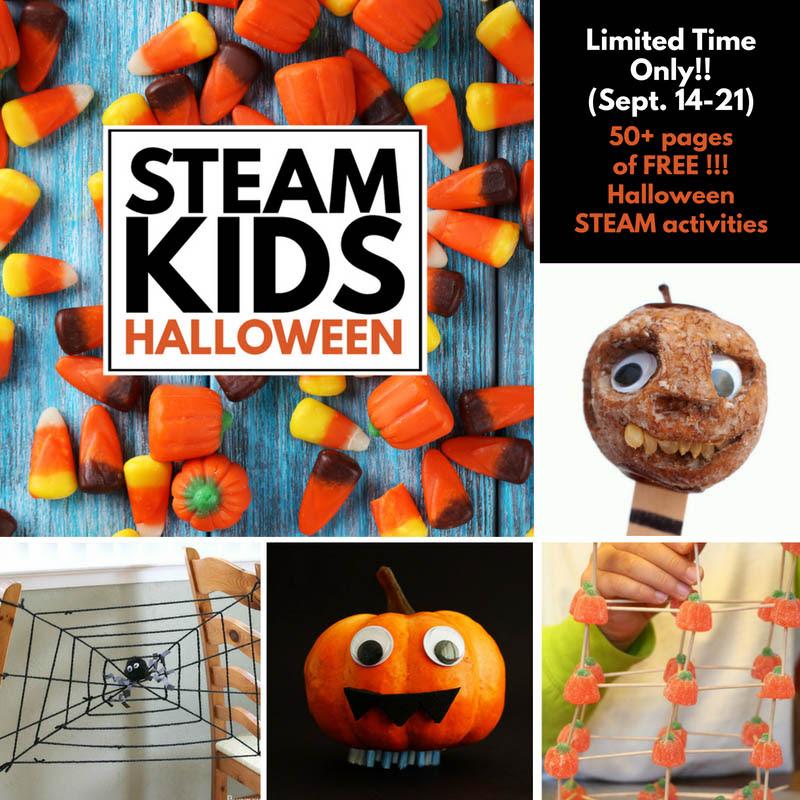 steam-kids-halloween-collage